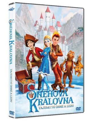 Sněhová královna: Tajemství ohně a ledu [DVD]